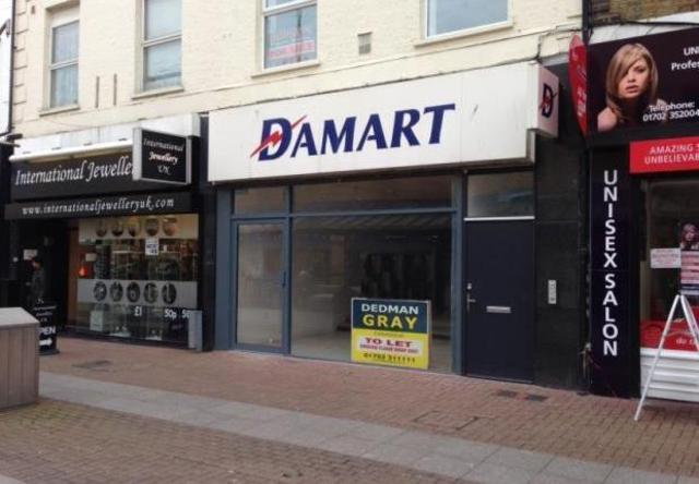 Image of Retail Premises  For Sale at High Street, Southend-On-Sea SS1