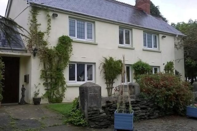 Image of 5 Bedroom Farm House for sale in Whitland, SA34 at Cwmbach, Whitland, SA34