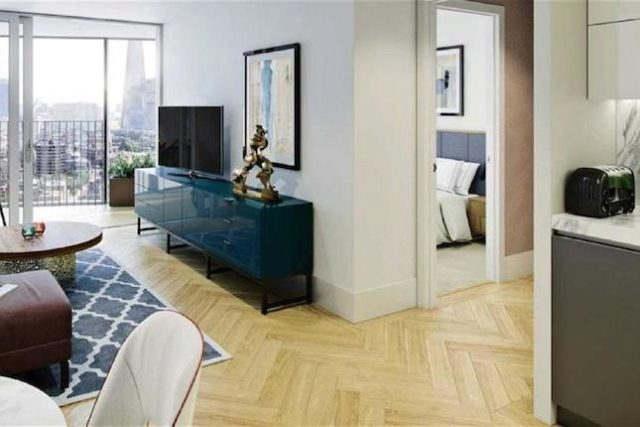 Image of 1 Bedroom Flat for sale at Two Fifty One, London SE1