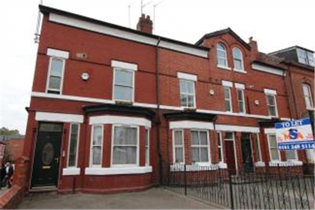 Image of 5 Bedroom End Of Terrace  To Rent at Hathersage Road, Manchester, M13