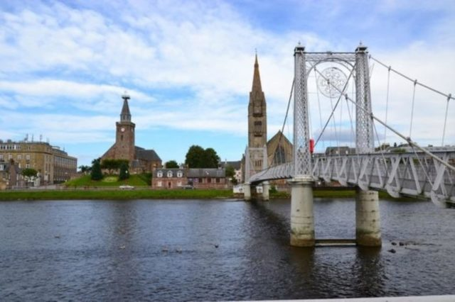 Image of 1 Bedroom Flat to rent in Inverness, IV1 at Queensgate, Inverness, IV1