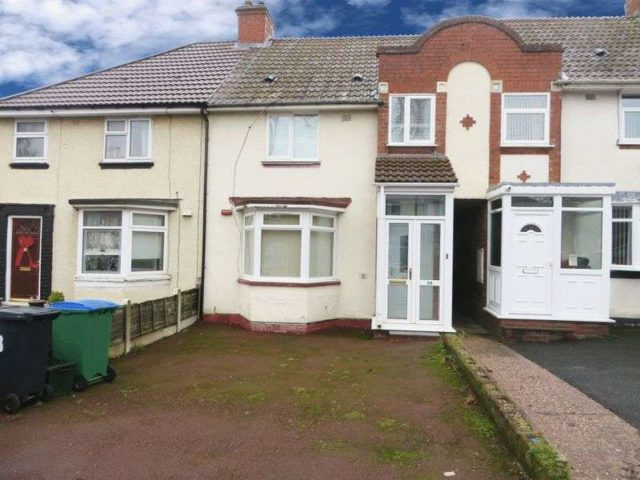 Image of 3 Bedroom Terraced for sale at Francis Road  Smethwick, B67 7HU