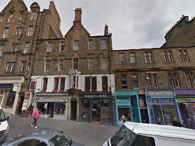 Image of 1 Bedroom Flat to rent at Old Town Edinburgh Edinburgh, EH1 1SP