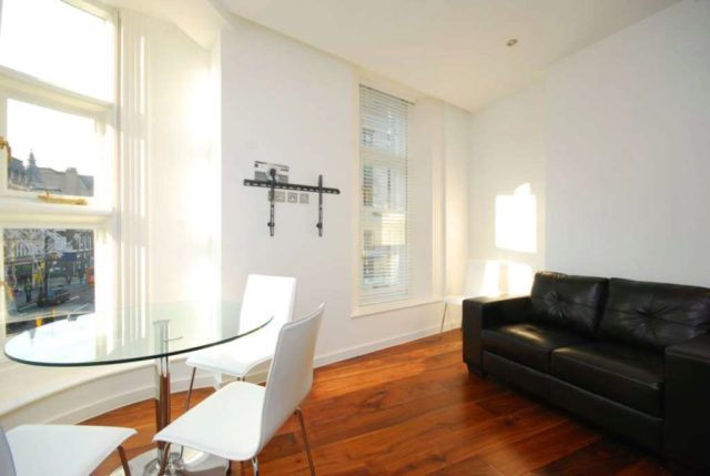 Image of 1 Bedroom Flat to rent at Berners Street Fitzrovia London, W1T 3LA