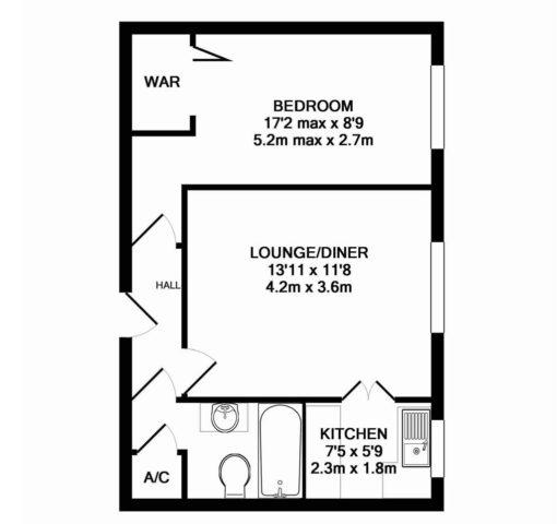 Park Terrace Minehead 1 Bedroom Apartment To Rent TA24