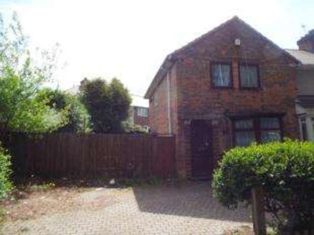 Image of 3 Bedroom End of Terrace for sale at Birmingham West Midlands Yardley, B25 8QH