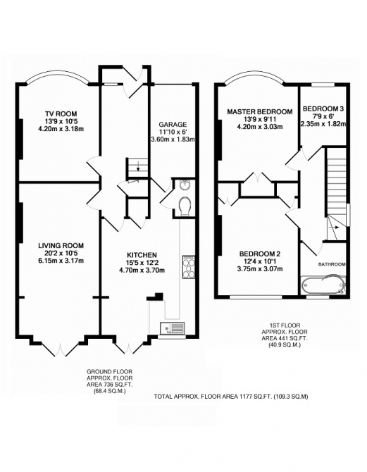 3 bedroom semi detached for sale on mayday gardens london for 3 bedroom house extension ideas